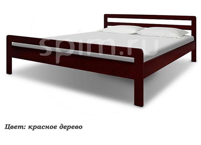 Кровать Шале Калинка каштан