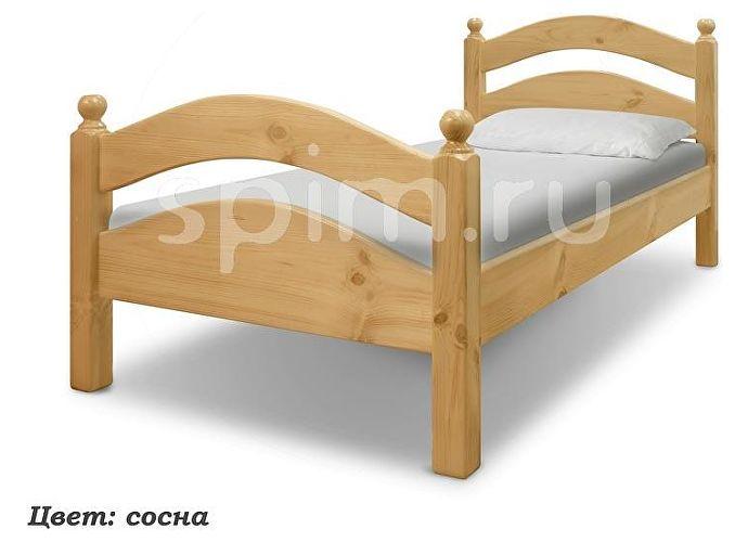 Кровать Шале Милана сосна