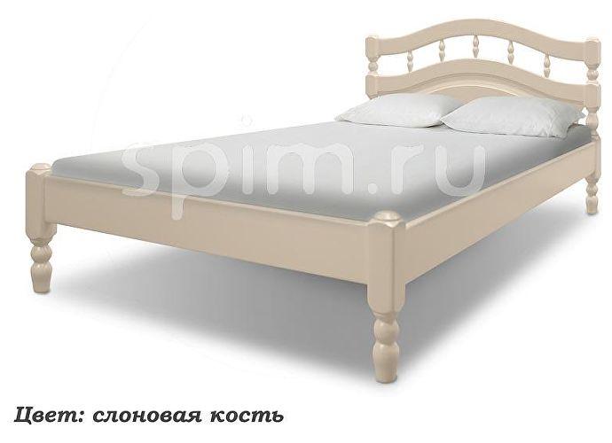 Кровать Шале Василиса слоновая кость+25%