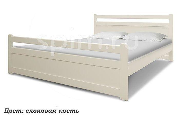 Кровать Шале Визави слоновая кость+25%