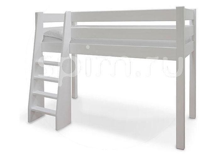 Кровать Шале Маугли белый эмаль+25%