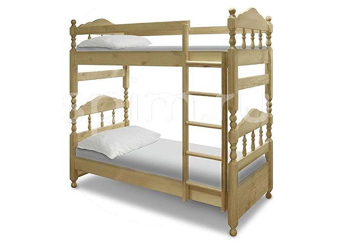 Кровать Ниф ниф Шале сосна