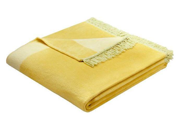 Плед Bocasa Orion Cotton Plus арт. 629548, лимонный