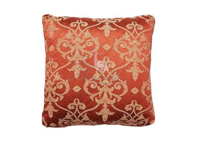Декоративная подушка Primavelle Vanessa вензеля терракот