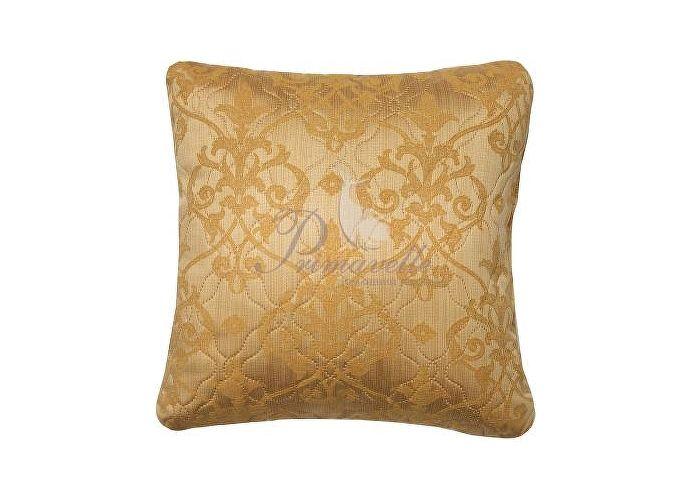 Декоративная подушка Primavelle Vanessa вензеля золото