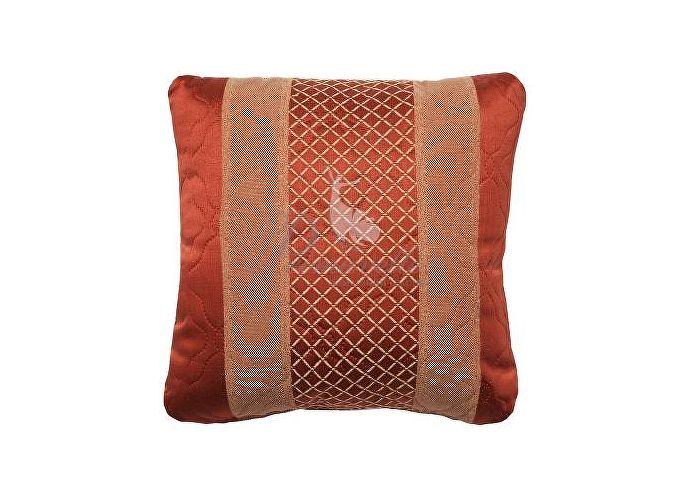 Декоративная подушка Primavelle Vanessa полосы терракот