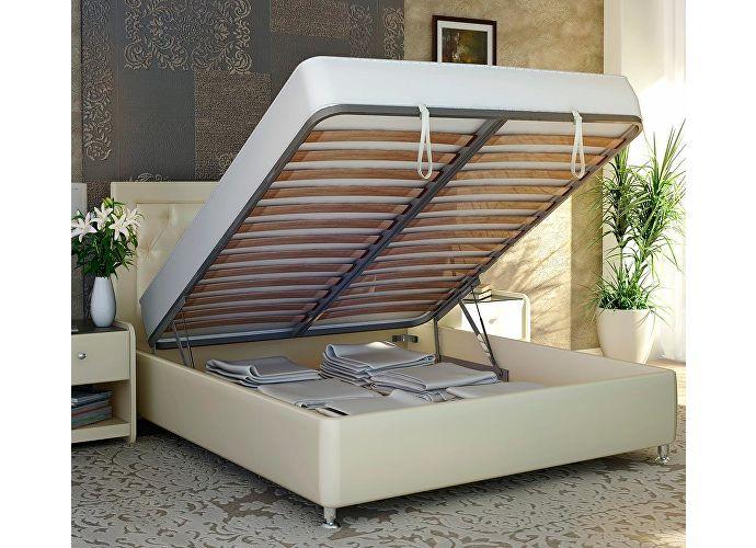 Кровать Аскона Simona с подъемным механизмом, 2 категория 109 (бежевый)