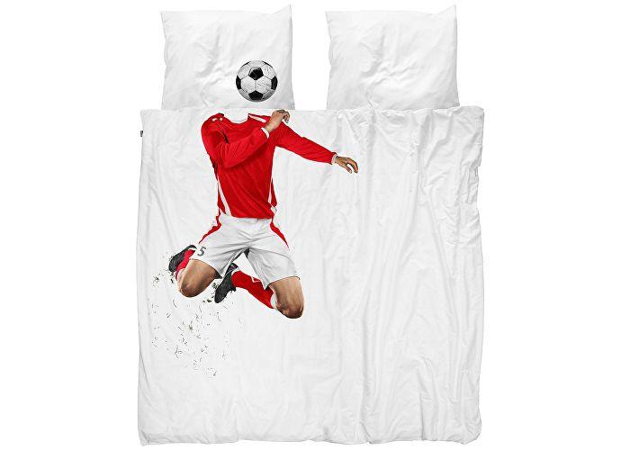 Постельное белье Snurk Футболист красный