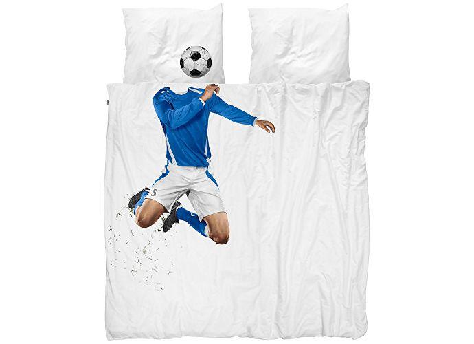 Постельное белье Snurk Футболист синий