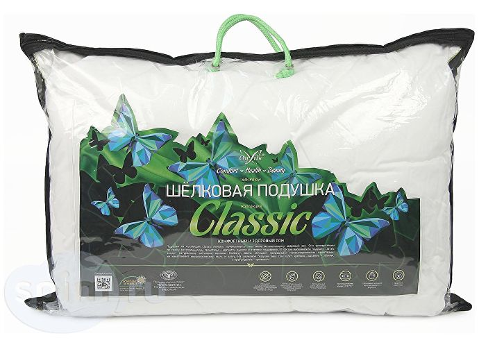 Шелковая подушка Onsilk Classic L 50х70