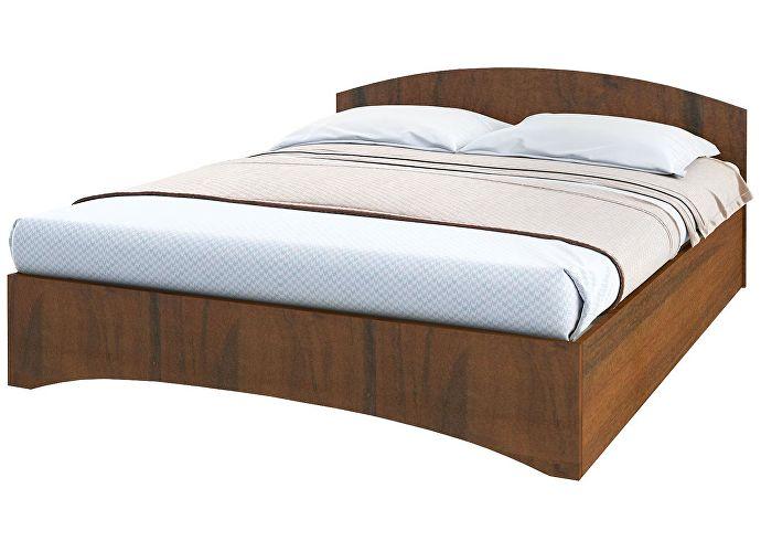Кровать Промтекс-Ориент Рено 1 орех эко