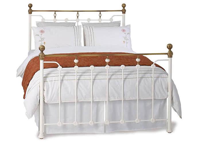 Кровать Гленхольм белый