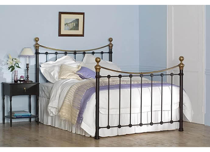 Кровать Селкирк черный