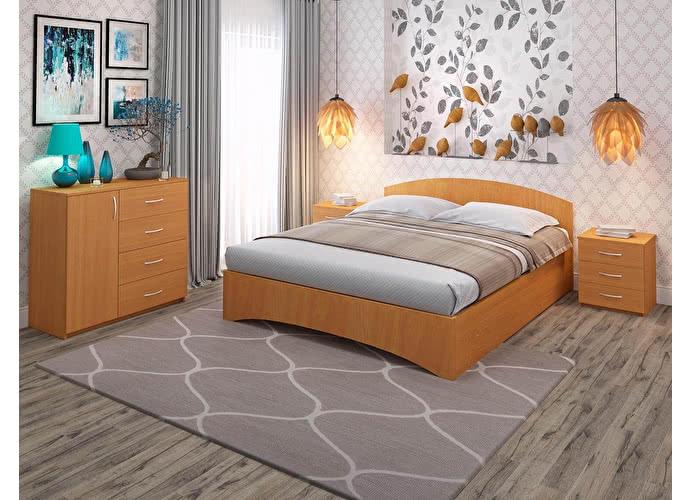 Кровать Промтекс-Ориент Рено радиус бук 265