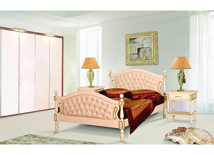 Кровать Фокин  Афродита 2 Желтый