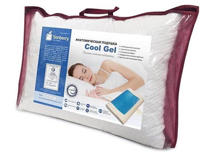 Подушка Sonberry Cool Gel Ergonomic