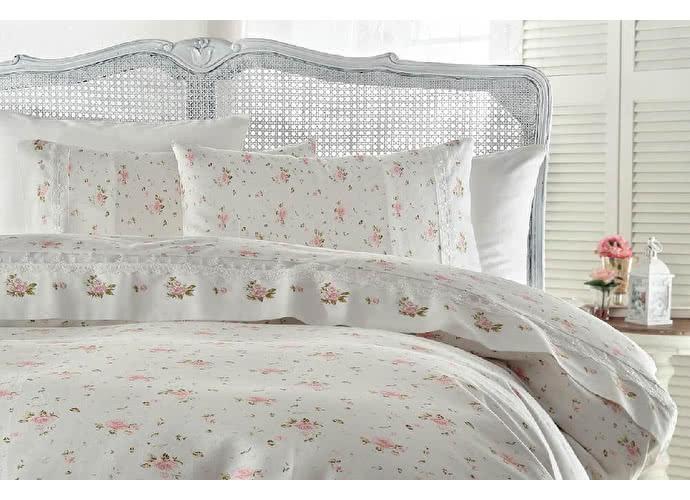 Постельное белье Gelin Home Roza розовый