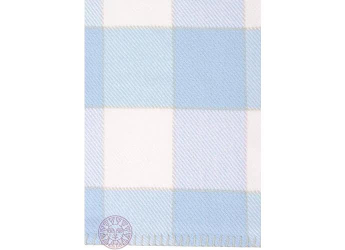 Детский плед Luxberry Vanessa голубой/белый
