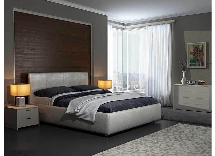 Кровать Como 3 Люкс Орматек жемчуг sprinter pearl (2247)