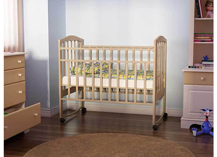 Детская кровать Золушка 1 Орматек светлый