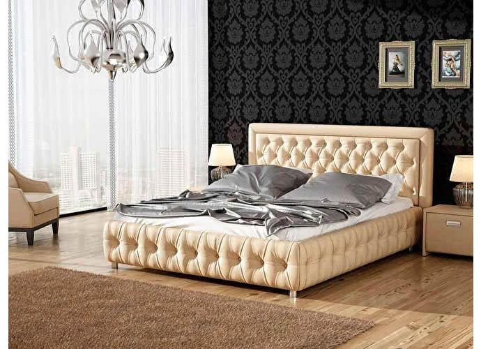 Кровать Veda 6 Орматек Бежевый (Cream Terra-101)