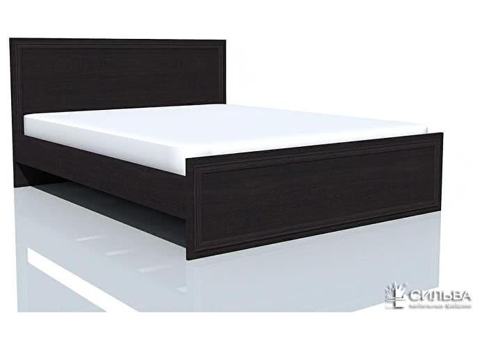 Кровать Сильва Браво НМ 014.42 Венге