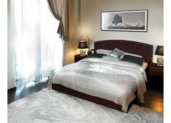 Кровать Аскона Grace с подъемным механизмом, 2 категория венге