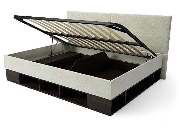 Кровать-тахта Орматек Lancaster ясень шимо темный/коричневый