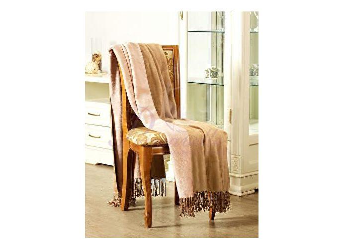 Плед Primavelle Bamboo двухсторонний 130х190 см розовый/кофейный