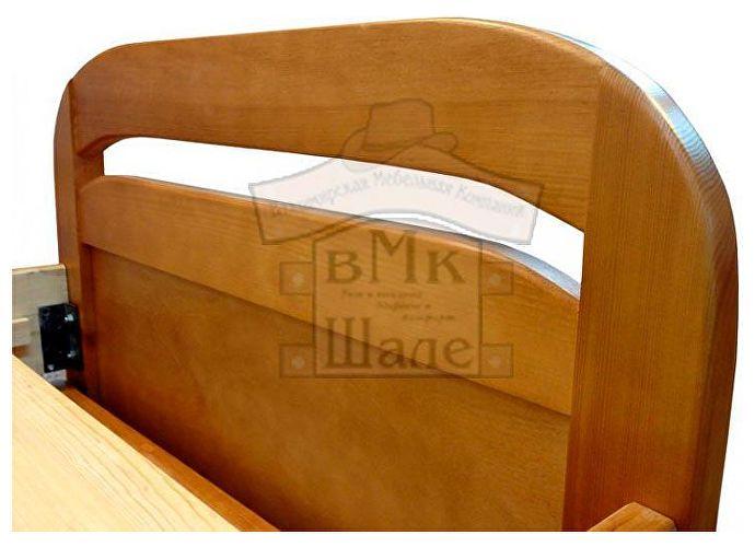 Кровать Мурзилка Шале ольха