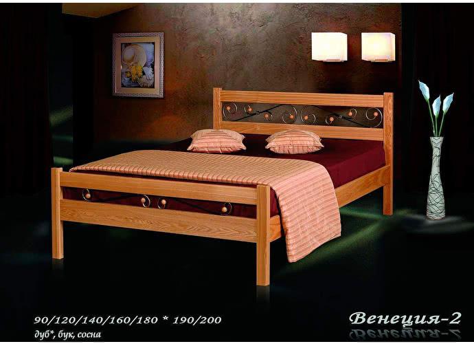 Кровать Фокин Венеция 2 Ольха
