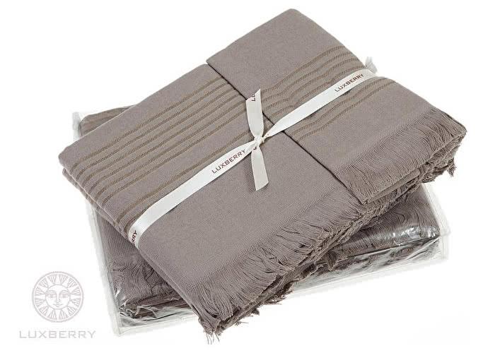 Набор полотенец Luxberry Simple шоколад