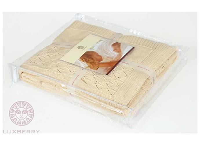 Детский плед Luxberry Imperio 283, 100х150 кремовый