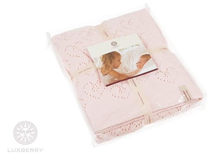 Детский плед Luxberry Lux 4 розовый