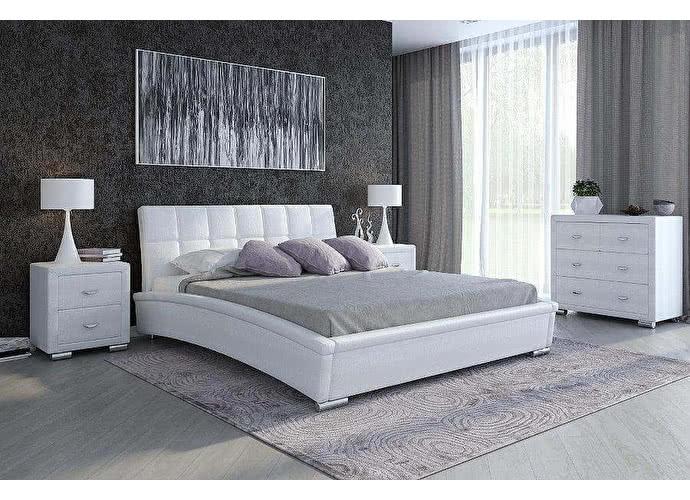 Кровать Орматек Corso-1 цвета люкс и ткань caiman croco