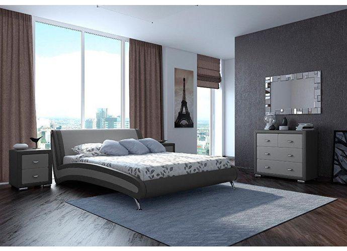 Кровать Орматек Corso-2 (серый, зеленый) 160 x 190 см. Скидка 40%  | SPIM.RU - Москва  | Орма - Мебель