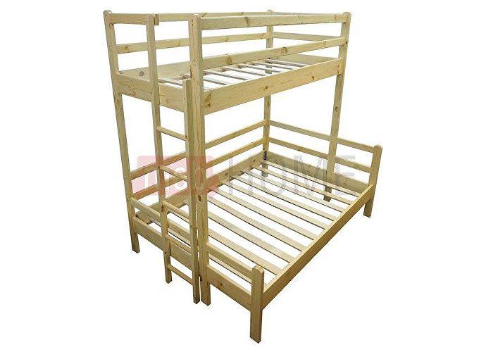 Кровать Шале Орленок (спальное место нижнего яруса 120) сосна