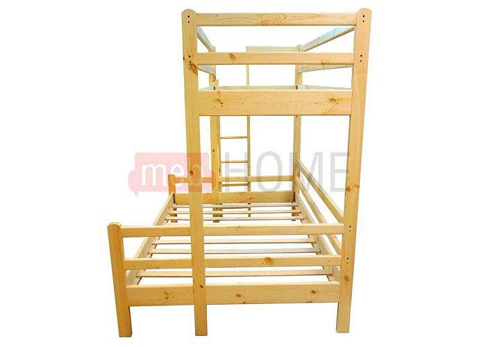 Кровать Шале Орленок (спальное место нижнего яруса 140) сосна