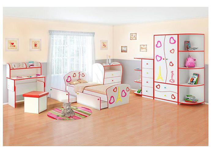 Продажа Кровать Соната Kids Плюс для девочек Орматек недорого