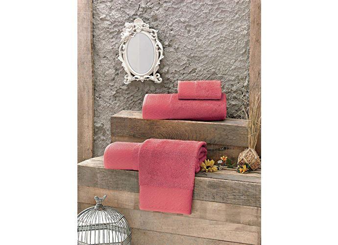 Набор полотенец Issimo Evan 30х50 см (4 шт.) розовый