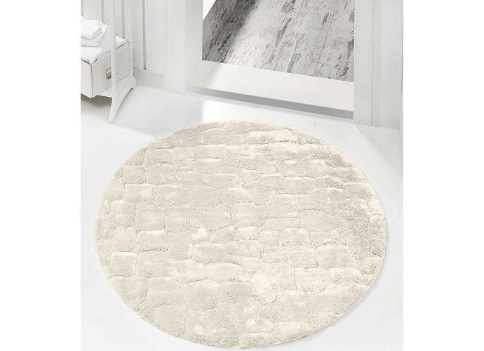 Круглый коврик Issimo Rocky, диаметр 120 см лиловый