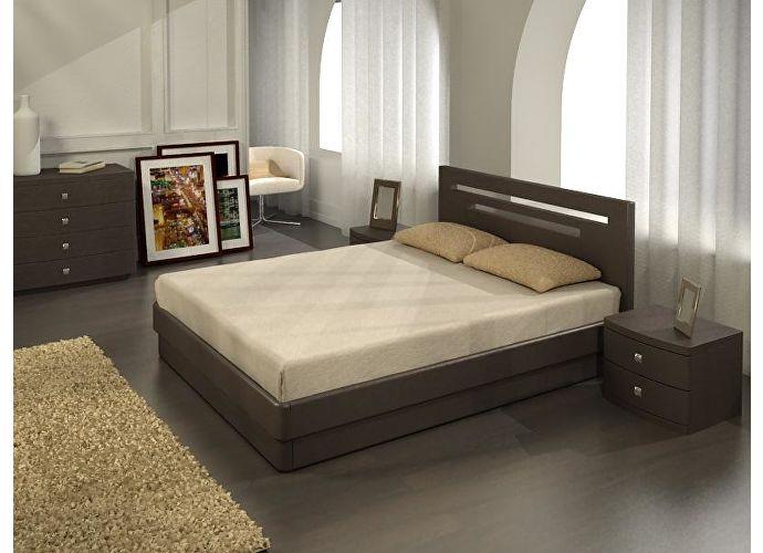 Кровать Торис ЮМА С1 (Берг)