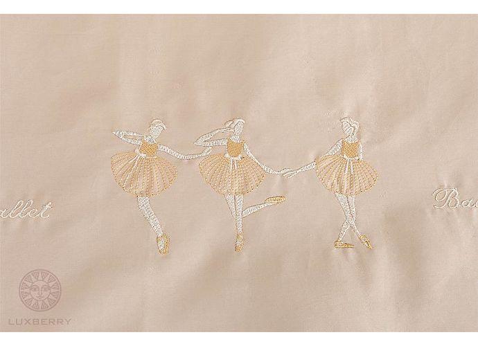Детский постельное белье Luxberry Ballet, простыня на резинке