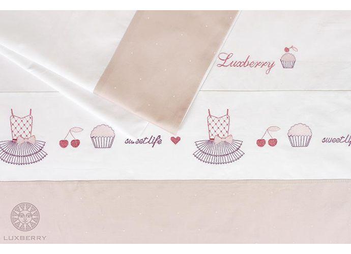 Детское постельное белье Luxberry Sweet Life, простыня без резинки