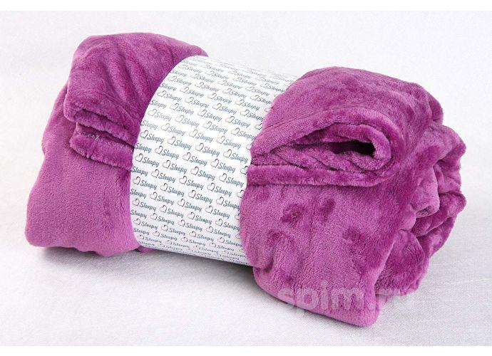 Плед Sleepy Original с рукавами, сиреневый