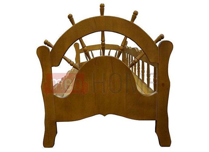 Кровать Адмирал Шале орех