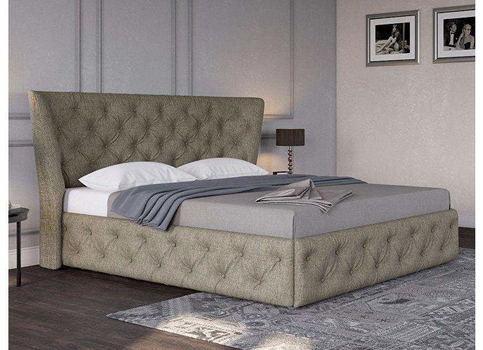 Кровать Life 5 (ткань и цвета люкс) Глазго коричневый