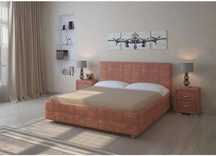 Кровать Life 3 (цвета люкс и ткань) кайман черный (20391)