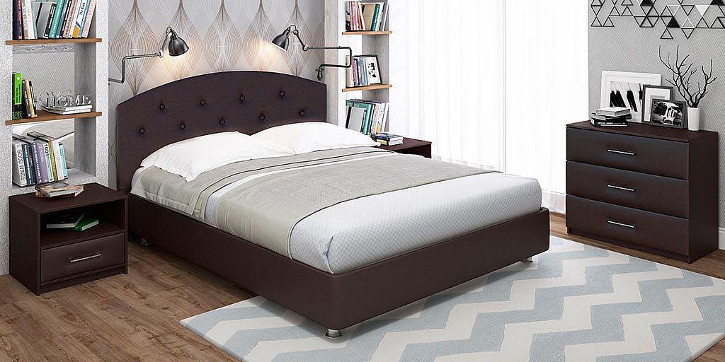 кровать 160х195 (160 на 195)