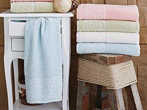 Купить полотенце Sofi De Marko Tiffany 50х90 см, бирюзовое